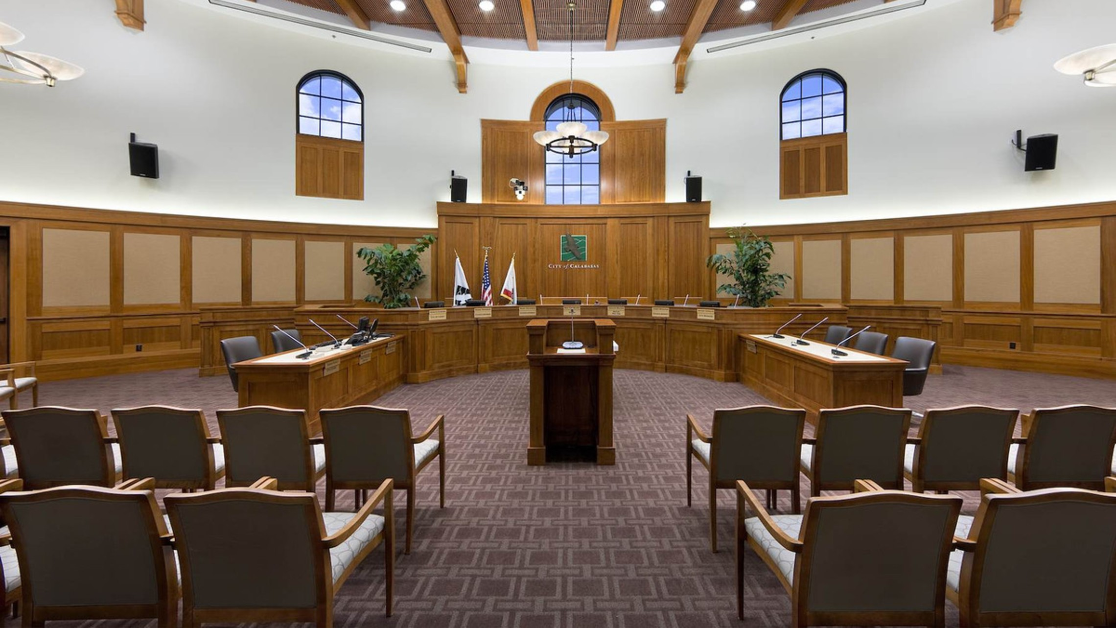 Calabasas Civic   Council Chambers