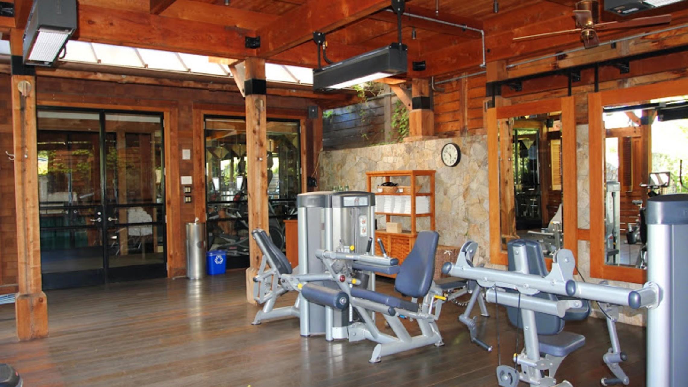 Calistoga Ranch Gym 1