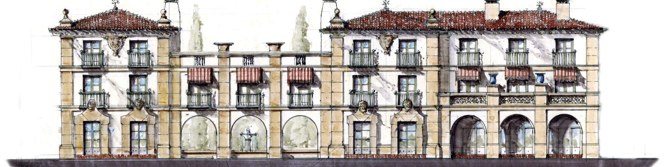 Parker Waterfront Hotel Rendering Old Scheme
