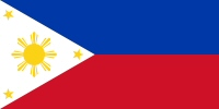 Filipino Flag Small